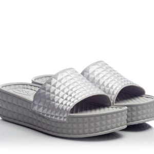 1-Ash-SCREAM-Grey-pyramid-embossed-flip-flop-platform-slides