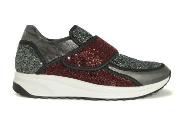 Liu jo sneaker nero granate cedro bmsneakers - First outlet vigo ...
