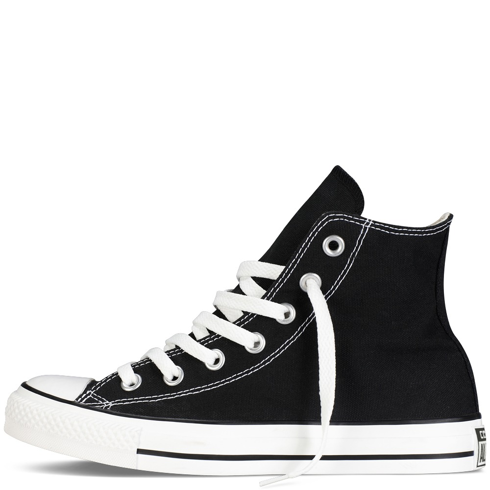 a5df977d6db CONVERSE CHUCK TAYLOR ALL STAR CLASSIC COLORS BLACK BOTIN – BmSneakers