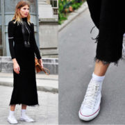 shoes sneakers boots street style inspiration paris fashion week VERONIKA HEILBRUNNER