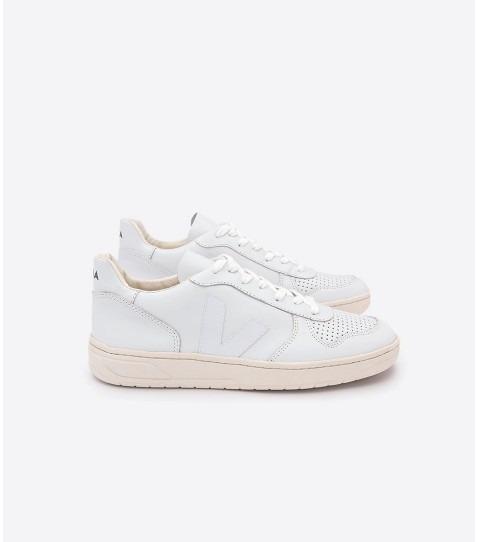 bien baratas como comprar bajo costo VEJA V-10 EXTRA WHITE BLANC - BmSneakers