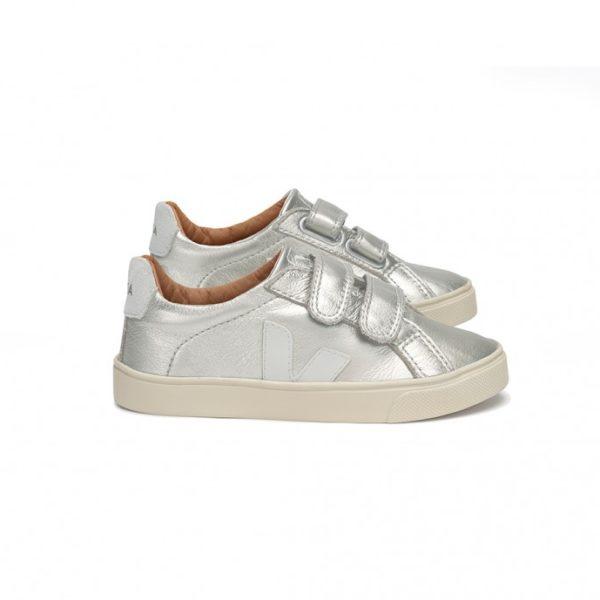 veja-esplar-leather-velcro-sneaker-silver-pierre