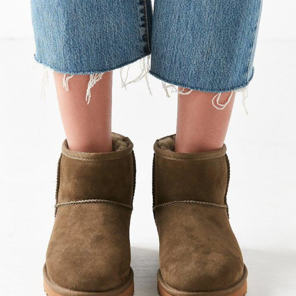 ugg-Olive-Ugg-Classic-Ii-Mini-Ankle-Boot