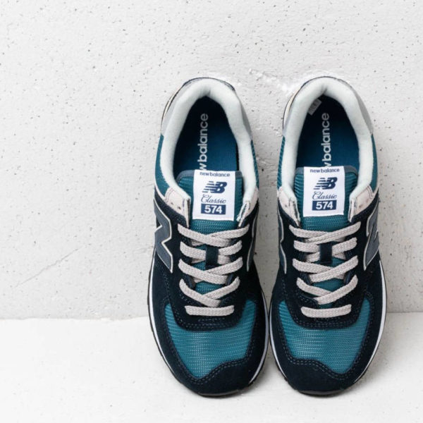 NEW BALANCE ML 574 ESS Dark Navy with Marred Blue BmSneakers