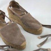 Castaner-Womens-Beige-Espadrille-Wedge-Sandals-85-Canvas